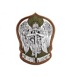 MALAMUT - Naszywka ST. MICHAEL PROTECT US - Olive