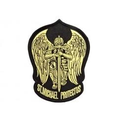 MALAMUT - Naszywka ST. MICHAEL PROTECT US - Gold