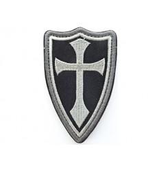 Mtac - Naszywka CRUSADER / KRZYŻOWIEC / Shield