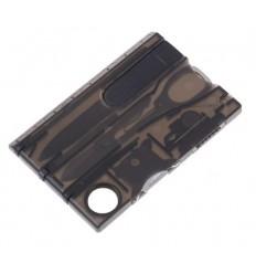 Karta wielofunkcyjna / Multitool - EDC CARD - Translucent Black