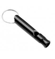 Mtac - Gwizdek ratunkowy Emergency Whistle - Aluminium - Czarny - EW02