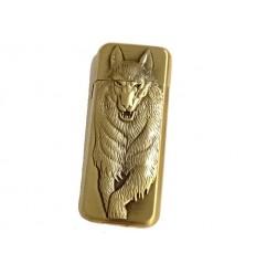DOLPHIN - Zapalniczka gazowa WOLF - Brass