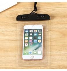Pokrowiec - Etui wodoszczelne / wodoodporne na telefon - Clear Case - Czarny - CC1B