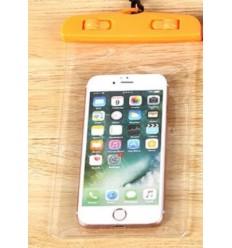 Pokrowiec - Etui wodoszczelne / wodoodporne na telefon - Clear Case - Pomarańczowy - CC1O