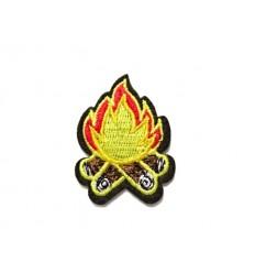 Mtac - Naszywka CAMP FIRE
