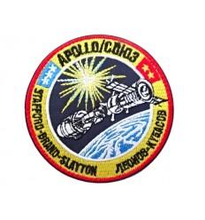 MALAMUT - Naszywka APOLLO - SOYUZ TEST PROJEKT - NASA - Rzep