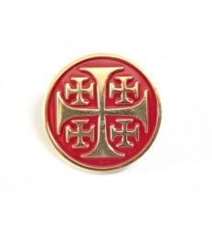 Wpinka / Pin metalowy - KRÓLESTWO JEROZOLIMSKIE - Krzyżowcy