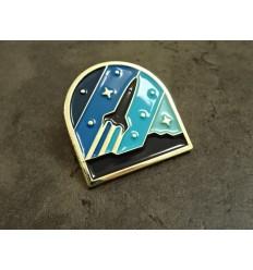 Wpinka / Pin metalowy - PER ASPERA AD ASTRA