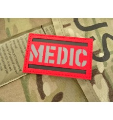 Mtac - Naszywka MEDIC Cordura - Odblask - Czerwony
