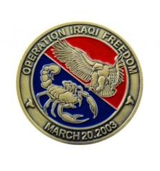 Medal okolicznościowy OPERATION IRAQI FREEDOM - MARCH 20.2003 - metal