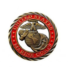 Medal okolicznościowy UNITED STATES MARINE CORPS - HONOR COURAGE COMMITMENT - metal