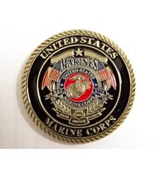 Medal okolicznościowy UNITED STATES MARINE CORPS - SEMPER FIDELIS - metal