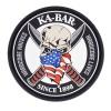 Ka-Bar - Naszywka Skull Patch - 3D PVC - KBPATCH1