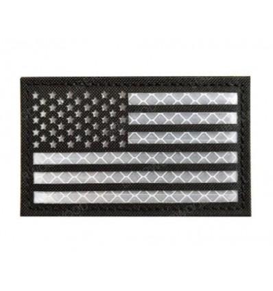 Mtac - Naszywka US Flag / USA Flaga - Odblask - Laser Cordura -rzep - SWAT