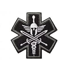 MALAMUT - Naszywka SPARTAN MEDIC - rzep - SWAT