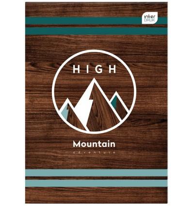 INTERDRUK - Notes MINI A7 - HIGH MOUNTAIN - 50 Kartek / kratka