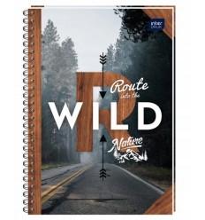 INTERDRUK - Notes / Kołonotatnik A6 - WILD - 50 Kartek / kratka