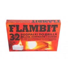 Darchem - Podpałka / Rozpałka FLAMBIT - Biała - 32 kostki
