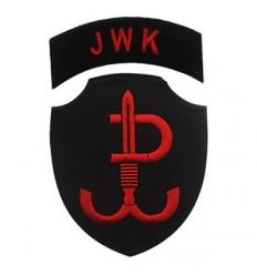 MALAMUT - Naszywka JWK - Jednostka Wojskowa Komandosów - rzep