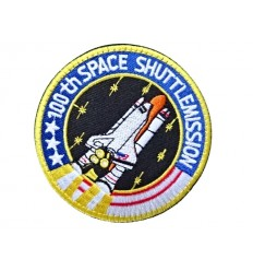 MALAMUT - Naszywka 100th SPACE SHUTTLE MISSION - NASA - rzep