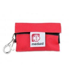 Medaid - Apteczka - Brelok Ratowniczy Plus / Z wyposażeniem/ - Czerwony