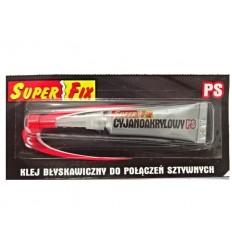 Super Fix - Klej Super FIX PS do szybkich połączeń sztywnych
