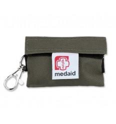 Medaid - Apteczka - Brelok Ratowniczy Plus / Z wyposażeniem/ - Zielony