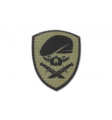 KAMPFHUND - Naszywka Medal Of Honor Skull - Coyote Tan - Gen I