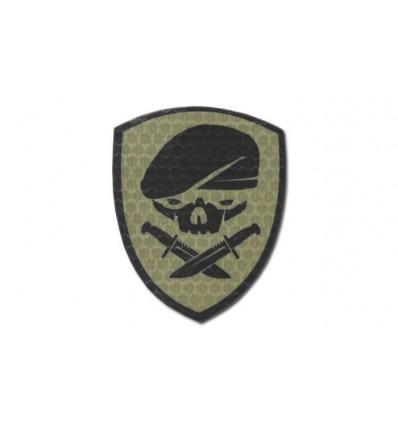 KAMPFHUND - Naszywka Medal Of Honor Skull - Coyote Tan - Gen I