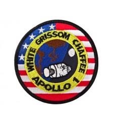 Mtac - Naszywka APOLLO 1 - NASA - rzep