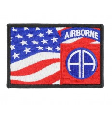 101 Inc. - Naszywka 82nd AIRBORNE flag