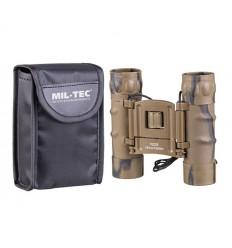 Mil-Tec - Lornetka składana Mini Gen II 10x25 z pokrowcem - Desert Camo - 15702160
