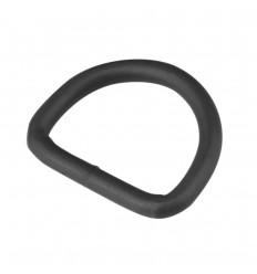 """ITW - Klamra / Półkole stalowe - D-Ring stalowy 1"""" - Czarny"""