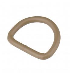"""ITW - Klamra / Półkole stalowe - D-Ring stalowy 1"""" - Tan"""