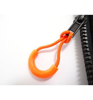 Uchwyt do suwaka - Zipper Ring - Pomarańczowy