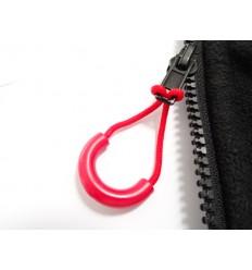 Uchwyt do suwaka - Zipper Ring - Czerwony