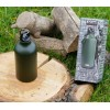 Fosco - Aluminiowa butelka THERMO z karabinkiem - 550ml