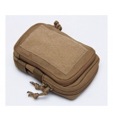 Tactical Tailor/ MSM - Organizer Compact Stealth Admin Pouch - Coyote Brown