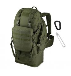 CAMO - Plecak OVERLOAD Backpack - 60Litrów - Zielony OD - PL-OV-BP-OG