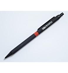 H&H - Ołówek automatyczny - aluminiowa obudowa - 0.5mm - Czarny