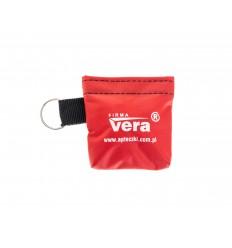 VERA - Maseczka do sztucznego oddychania - Etui - Czerwony