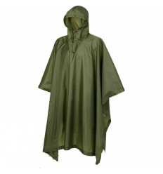 Protex GMBH - Ponczo przeciwdeszczowe - Rain Poncho - 100% polyester - Olive