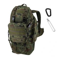 CAMO - Plecak OVERLOAD Backpack - 60Litrów - Pantera Leśna wz.93 - PL-OV-BP-WZ