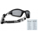Bolle - Okulary Ochronne - TRACKER II - Smoke - TRACPSF