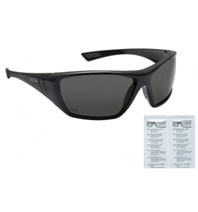Bolle Safety - Okulary Ochronne - HUSTLER - Smoke - HUSTPSF