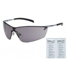 Bolle Safety - Okulary Ochronne - SILIUM - Smoke - Ramka metal