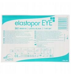 Zarys - Opatrunek oczny włókninowy - Elastopor EYE - 5,8 x 8,3cm
