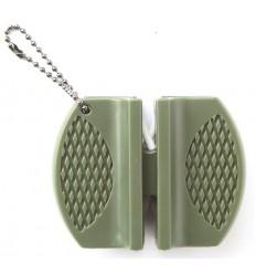 Mil-Tec - Uniwersalna ostrzałka / osełka wolframowo - ceramiczna -  Olive - 15445000