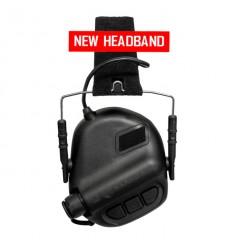 Earmor - Aktywne ochronniki słuchu / Słuchawki ochronne M31 - Czarne