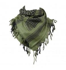 101 Inc. - Arafatka PLO Scarf 100% Cotton - Olive / Czarny